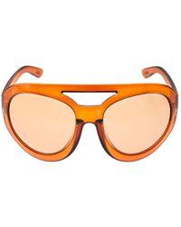 Tom Ford Serena オーバーサイズサングラス - オレンジ