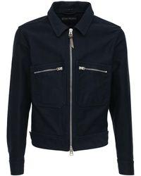 Tom Ford - コットンシャツジャケット - Lyst