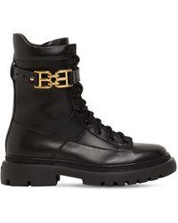 Bally Кожаные Ботинки-комбат 30mm - Черный