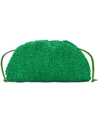 Bottega Veneta Плетеный Клатч С Букле - Зеленый
