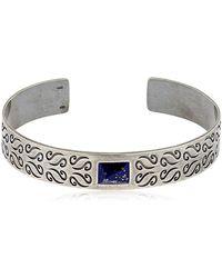 MARCO DAL MASO | Ara Silver Bracelet W/ Lapis Lazuli | Lyst