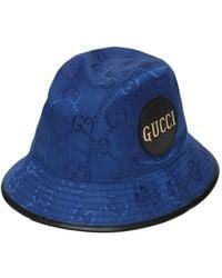 Gucci Off The Grid エコナイロンバケットハット - ブルー