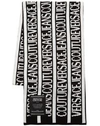 Versace Jeans Couture ロゴストール - ブラック
