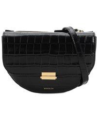 Wandler Anna Leather Beltbag - Black