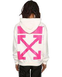 Off-White c/o Virgil Abloh - Bart Embroidered Sweatshirt Hoodie - Lyst
