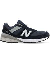 Junya Watanabe X New Balance '990v5' Sneakers - Blau