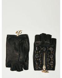 DSquared² Lange Handschuhe, Lvr Exclusive - Schwarz