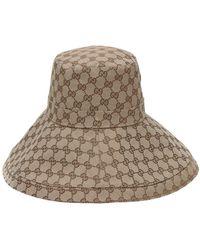Gucci Шапка California Original Gg - Естественный