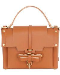 Niels Peeraer - Medium Bow Buckle Leather Top Handle Bag - Lyst