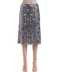 COACH Sequined Long Skirt - Multicolour