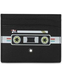 Montblanc Meisterstuck Leather Card Holder - Black