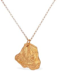 Alighieri Ox Zodiac Charm Chain Necklace - Metallic