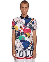 Polo Ralph Lauren - Рубашка Поло Из Хлопка Пике - Lyst
