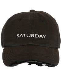 Vetements - Weekend Distressed Canvas Baseball Hat - Lyst