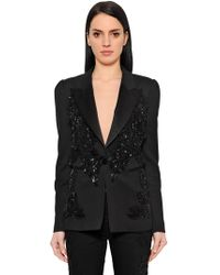 Zuhair Murad - Giacca Smoking Con Paillettes - Lyst