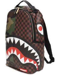 Sprayground Check & Camo Backpack - Multicolour