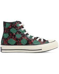Converse Chuck 70 Snake Sequins Sneakers - Grün