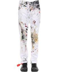 Off-White c/o Virgil Abloh White Dirty Jeans