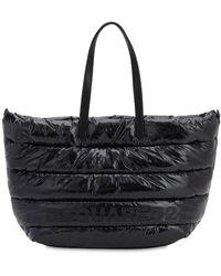 DSquared² Miss Logo Vinyl Tote Bag - Black