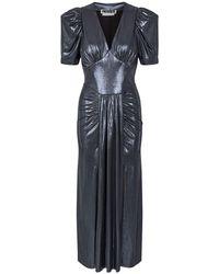 ROTATE BIRGER CHRISTENSEN Alma ストレッチジャージードレス - ブラック