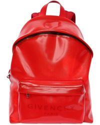 Givenchy Rucksack Mit Logo - Rot