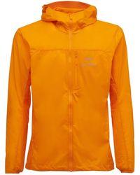 Arc'teryx Squamish フーデッドナイロンジャケット - オレンジ