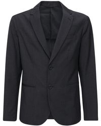 Armani Exchange Veste Boutonnage Simple - Noir
