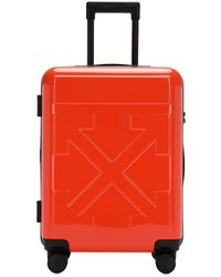 """Off-White c/o Virgil Abloh Trolley Piccolo """"for Travel"""" - Rosso"""