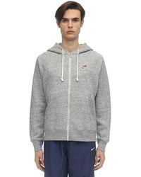 Nike Nsw Heritage Sb Zip-up Sweatshirt Hoodie - Grau