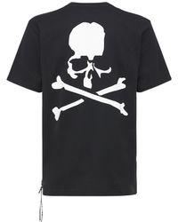 MASTERMIND WORLD マルチロゴコットンtシャツ - ブラック