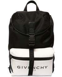 Givenchy Glow-in-the-dark Nylon Backpack - Black