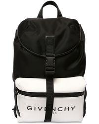 Givenchy Nylonrucksack Mit Glow-in-the-dark - Schwarz