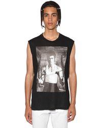 DSquared² Lee ジャージーノースリーブtシャツ - ブラック