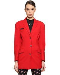 Marine Serre - Tessibiella Tailored Wool Jacket - Lyst