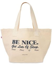 Sporty & Rich - Be Nice トートバッグ - Lyst