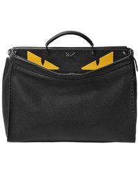 Fendi - Medium Peekaboo Monster Leather Bag - Lyst