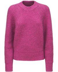 Isabel Marant Rosy Fluffy コットンブレンドニットセーター - ピンク