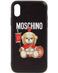 Moschino - Printed Teddy Iphone Xs Max Cover - Lyst