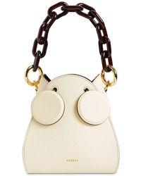 Yuzefi Pepper Leather Bucket Bag - Natur