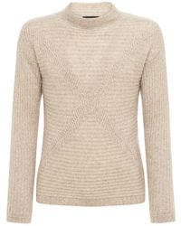 Giorgio Armani - Cashmere & Silk Knit Sweater - Lyst