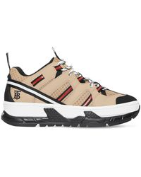 "Burberry Sneakers ""Rs5"" De Piel Y Malla 40Mm - Neutro"