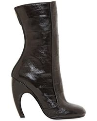 Givenchy - Black Eelskin Boots - Lyst