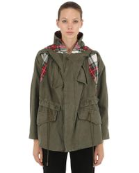 Antonio Marras - Limited Check Military Cotton Parka - Lyst