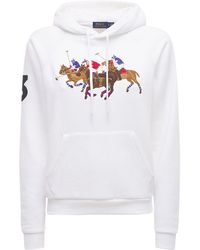 Polo Ralph Lauren Свитшот С Капюшоном - Белый