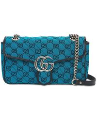 Gucci - Gg Marmont Multicolor キャンバスバッグ - Lyst