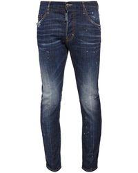"DSquared² 16.5cm Jeans Aus Baumwolldenim ""skater"" - Blau"