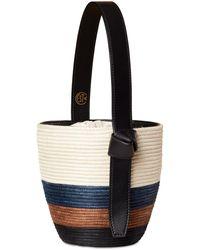 Cesta Collective Tri-stripe Lunchpail Top Handle Bag - Multicolour