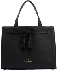 Kate Spade - Small Isobel Leather Top Handle Bag - Lyst