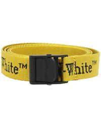Off-White c/o Virgil Abloh - Ремень Из Нейлона С Логотипом 25mm - Lyst