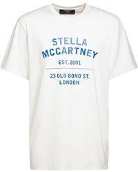 Stella McCartney コットンジャージーtシャツ - ホワイト